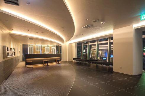 ホテルビスタ広島 フロントの様子