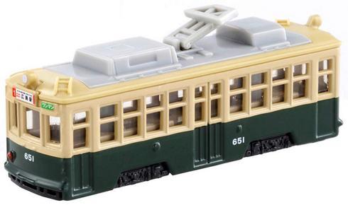 トミカ 広島電鉄の650形 651号