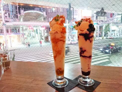 広島市 カフェガーデン+カフェラトリー パフェの写真