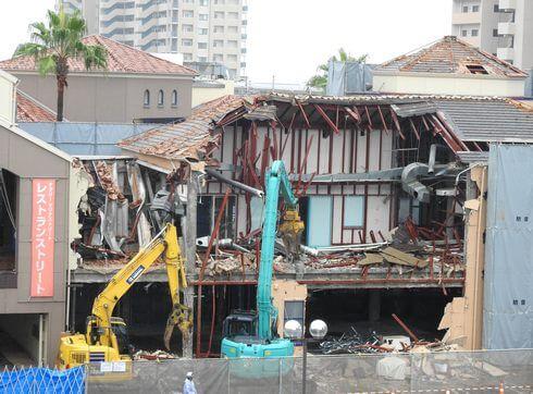 広島・フジグランナタリーが一部解体、マリナストリート西棟跡地は駐車場へ