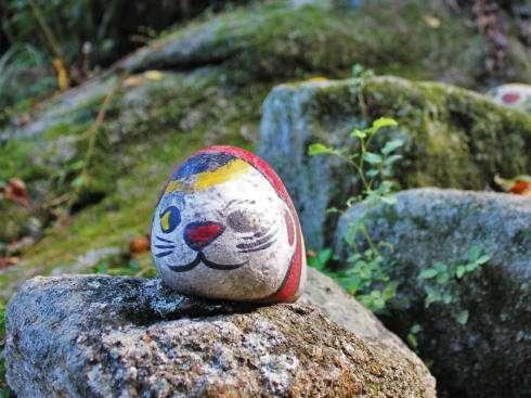 福石猫の個展 開催、「尾道の街は元気!」を発信