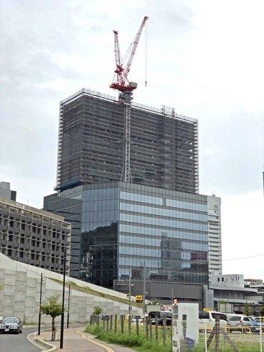 広島二葉の里プロジェクト、2018年9月の出来具合