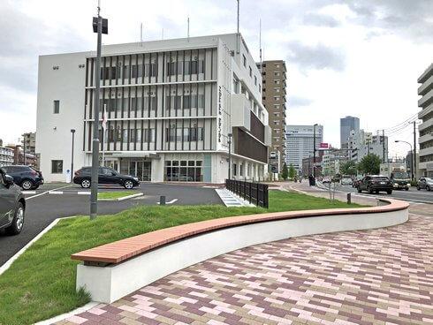 新しくなった広島東警察署