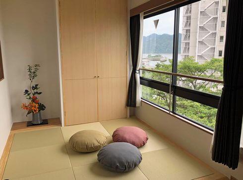 宮浜温泉 イブク、和室付きの部屋もあり