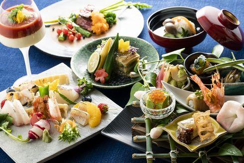 宮浜温泉 イブク 夕食の会席料理