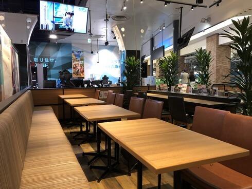 広島 キーズカフェ 客席の様子