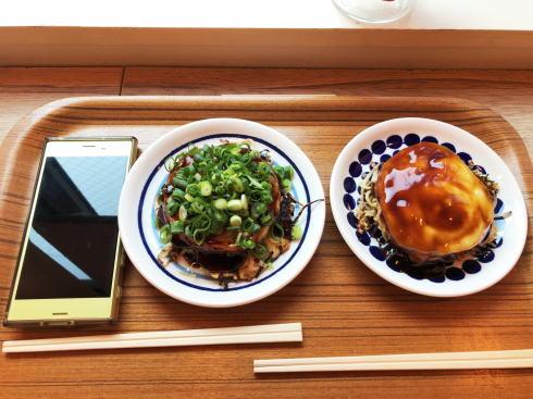 広島本通り まる焼き お好み焼きの写真