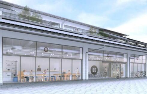 尾道駅のカフェ BETTER BICYCLES CAFE イメージ