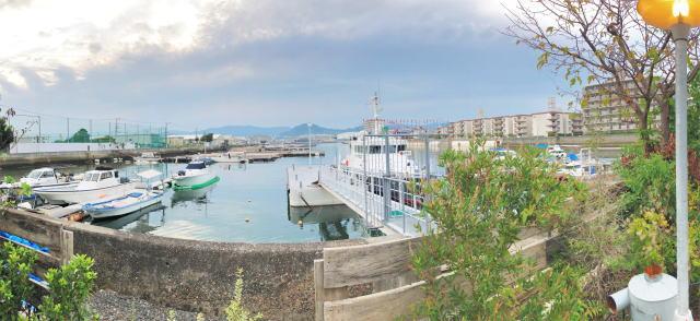 広島 リタルダンド(rit.)ウッドデッキテラスからの風景