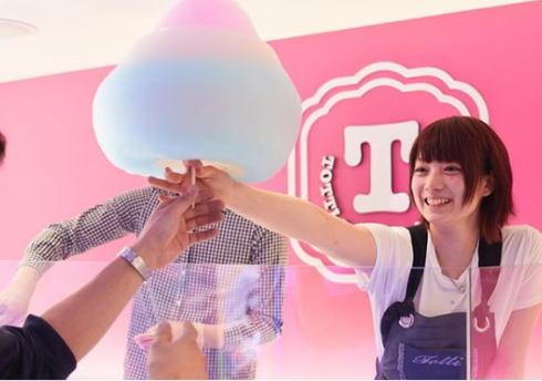 レインボーわたあめ「トッティーキャンディーファクトリー」広島初店舗