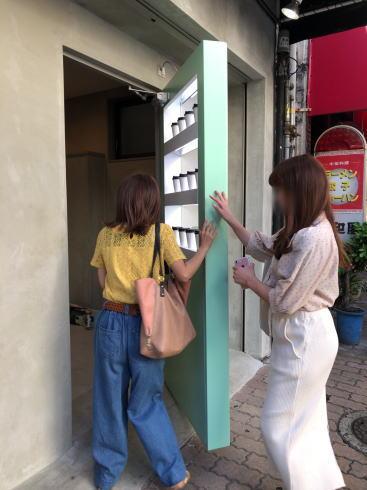 W/O STAND HIROSHIMA 自販機ドア