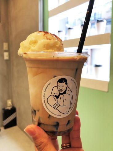 W/O STAND HIROSHIMA コーヒーゼリーラテ