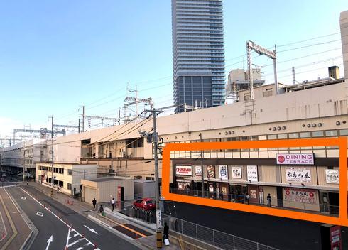広島駅 エキエダイニングテラスの場所
