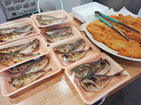 佐賀県鳥栖市 鮮魚店「金梅」店内の様子6