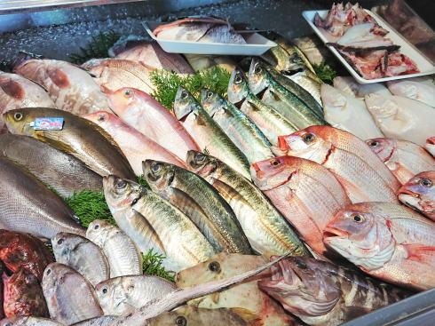 佐賀県鳥栖市 鮮魚店「金梅」店内の様子4