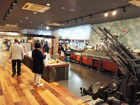 呉ハイカラ食堂 の売店エリア