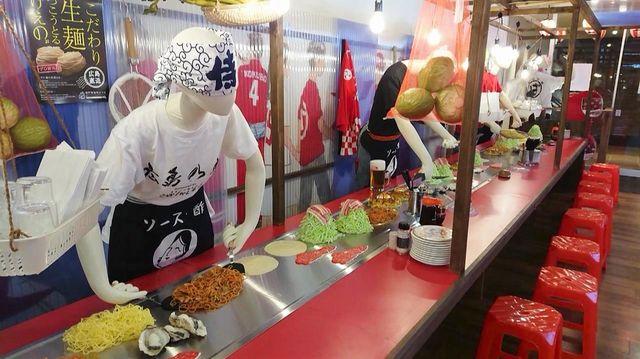 広島駅 広島乃風、広島まるごと酒場は90席大型店舗