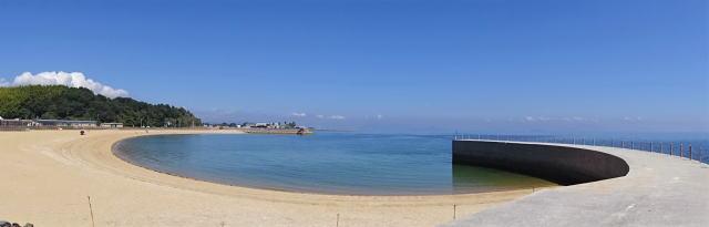 みなとオアシスゆう(山口県岩国市)ビーチの画像2