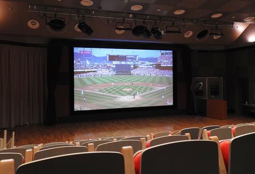 8Kスーパーハイビジョンシアター、NHK広島に8Kの魅力を体感できる大型スクリーン