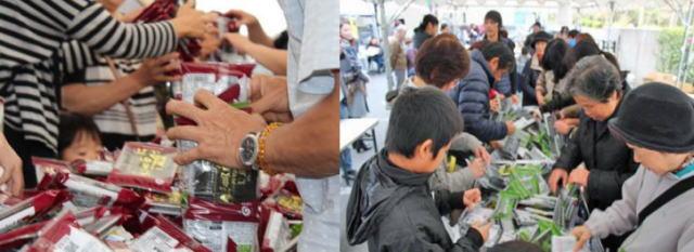丸徳のり 海苔祭、商工センターで開催「味のり詰め放題」