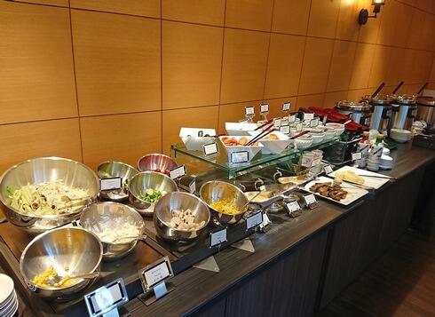 ザロイヤルパークホテル広島の朝食「ザ リバーサイドカフェ」