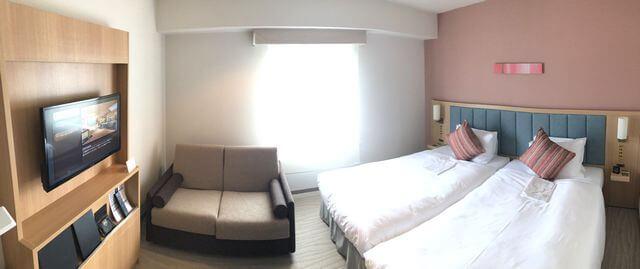 ザ ロイヤルパークホテル広島 客室の様子