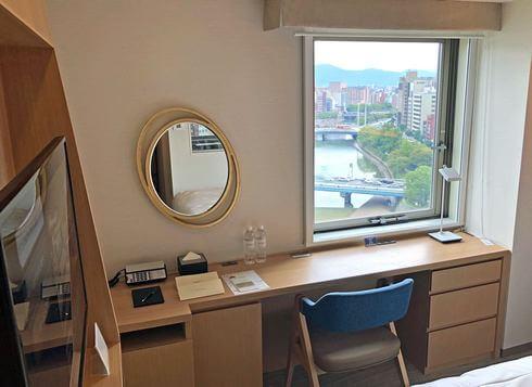 ザ ロイヤルパークホテル広島 窓からの眺め