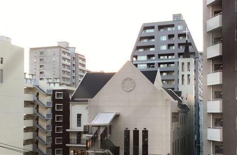 ザ ロイヤルパークホテル広島 西側の景色