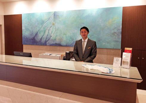 ザ ロイヤルパークホテル広島のチェックイン機