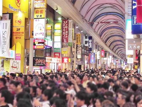カープ日本一 決定時も交通規制、広島市中心部