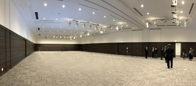 広島テレビ新社屋、メインホールや会議室も