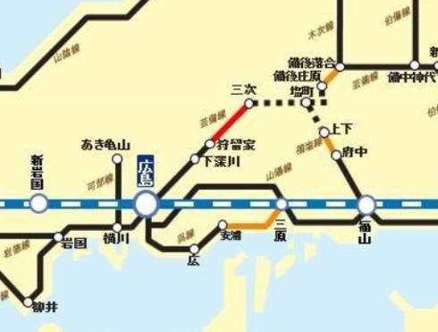 JR呉線が2018年内に全線再開、運転計画前倒しで