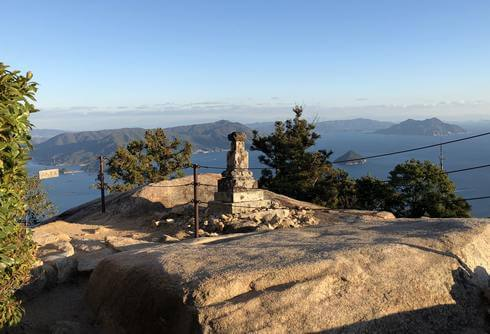 くぐり岩を抜けたら、弥山山頂へ