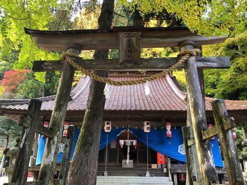 広島・安芸太田町の大歳神社
