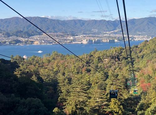 宮島ロープウェイからの眺め1