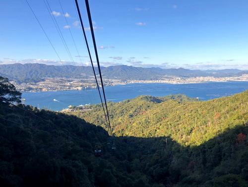 宮島ロープウェイからの眺め2