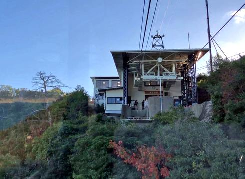宮島・弥山の獅子岩駅