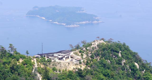 宮島 弥山(みせん)獅子岩展望台
