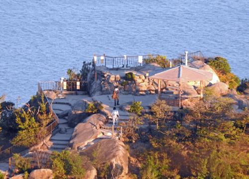宮島 弥山「獅子岩展望台」の眺望