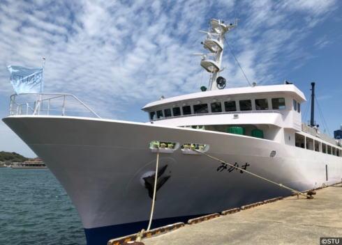 STU48号が2019年春完成、因島で船工事 デビュー待つ