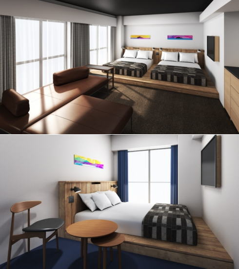 アンカーホテル福山 客室例