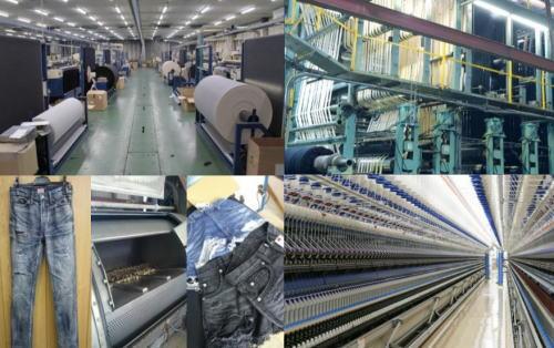 福山で「デニムツアー」デニム工場を見学できる