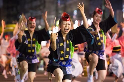 徳島「阿波踊り」イメージ