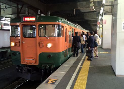 広島に残る国鉄型電車(115系・113系など)