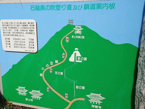 尾道 浄土寺の裏から山に登る