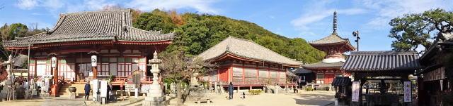 尾道 浄土寺 境内パノラマ