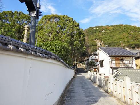 尾道 浄土寺 から鎖場へ