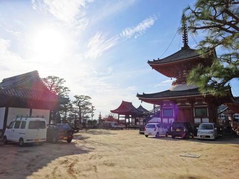 尾道 浄土寺の裏門へ