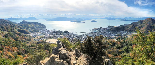 瀬戸の絶景を黒滝山から!遠足気分で登れる竹原・忠海のシンボル