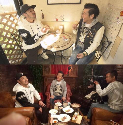 菊池選手の広島市内ぶらりロケで、レトロ喫茶「みと」へ